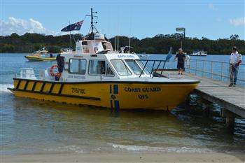 Major joint exercise on Noosa River