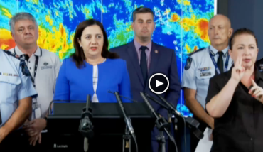 The latest update from the State Disaster Coordination Centre on the impact of cyclone Debbie...