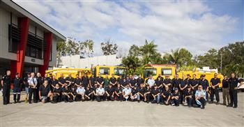 QFES deploys personnel to help with NSW Bushfires