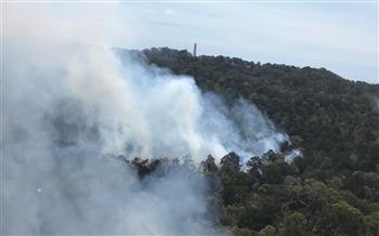 K'gari (Fraser Island) fire