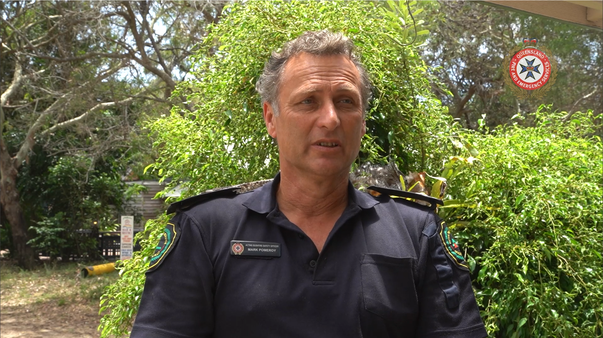 Interview with Acting Bushfire Safety Officer Mark Pomeroy on challenges with fighting bushfires on K'Gari and the current conditions on the island.