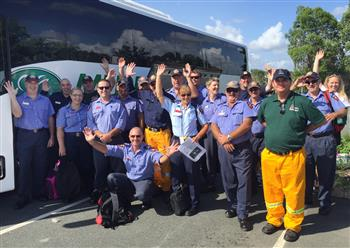 QFES deploy to support WA firefighters